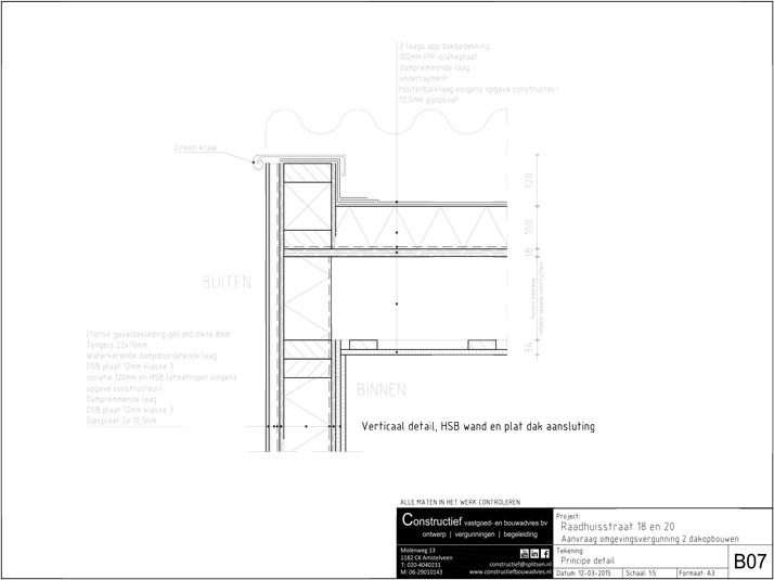 10 Bouwaanvraag dakopbouw