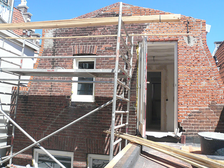 Renovatie-bouwaanvraag